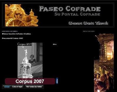 Nueva galería fotográfica en 'Paseo cofrade' dedicada al Corpus Christi