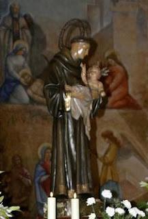 Triduo en los Molinos en honor a San Antonio de Padua