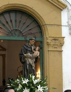 Mañana, San Antonio de Padua procesionará por las calles de los Molinos