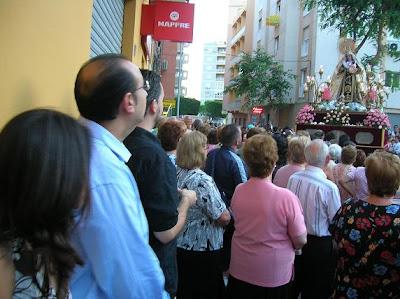 El barrio del Zapillo arropó a su Virgen del Carmen