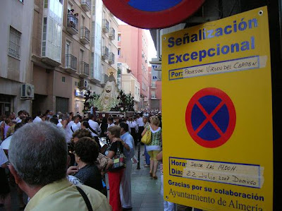 San Sebastián recibió a la Reina de las Huertas