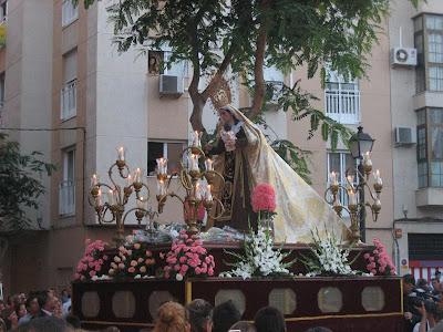 Virgen del Carmen del Zapillo, por José Manuel Castroviejo López