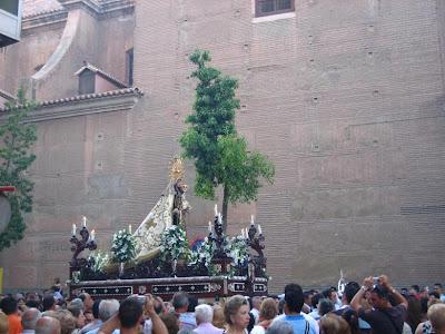 Virgen del Carmen de San Sebastián por Mai Molina