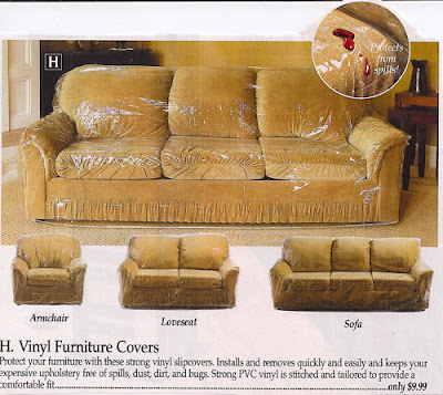 Plastic Slipcovers For Sofas Sew That S It Mid Century Musings