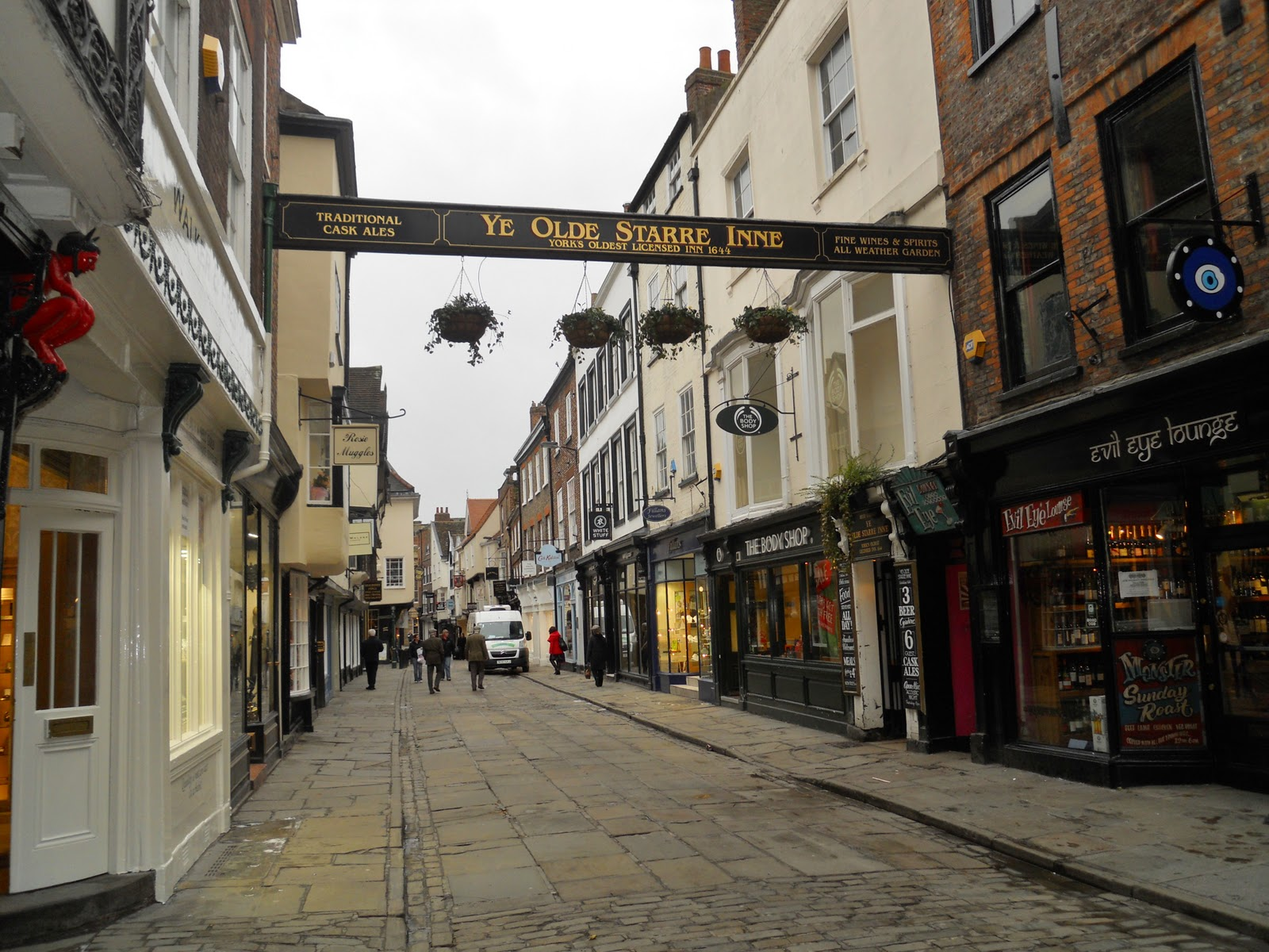 A Walk On The Streets Of York Uk