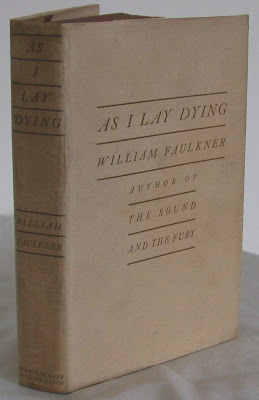 faulkner as i lay dying essays Free essay: william faulkner's as i lay dying in william faulkner's novel, as i lay dying many points of view are expressed through the use of interior.