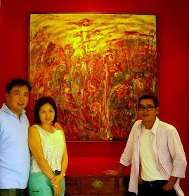 Zainal Abidin Musa A Malaysian Artist Janda Baik Sunset