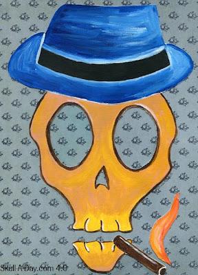 Folk Art Skulls