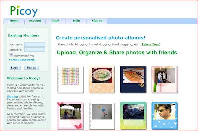 picoy, album fotografici