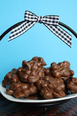 Burn Me Not Chocolate Peanut Clusters