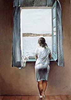 Claro está que el de la imagen no soy yo, pero me encanta este cuadro de Dalí
