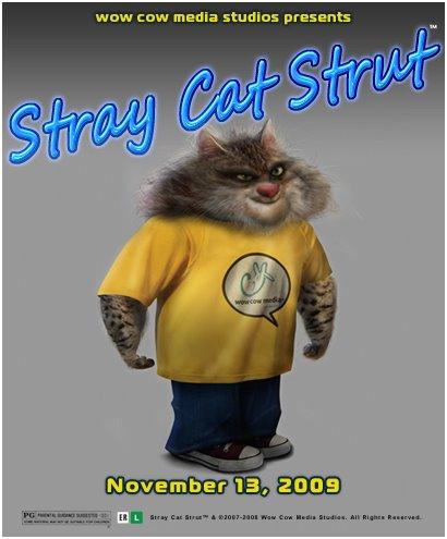 "Stray Cat Strut ""SCS"" Casting Poster"