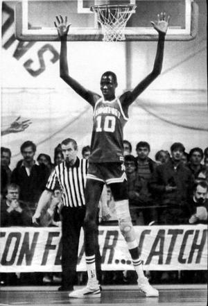 Manute Bol is the tallest player to ever play in the NBA a2c43ac63