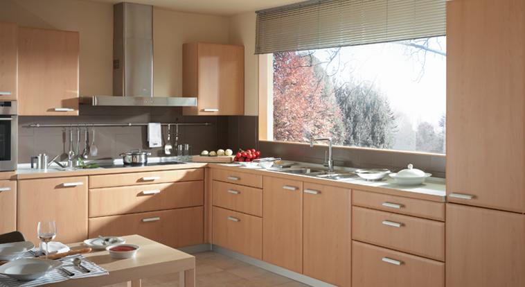 Cocinas y muebles en melamina for Muebles cocina melamina