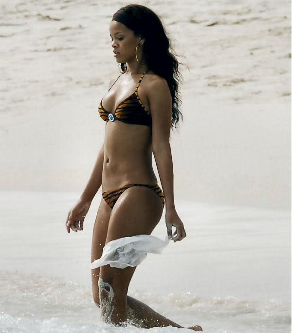 nude woman at beach