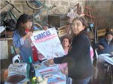 CHARLAS SOBRE PARTICIPACION DE APDH EN CONFERENCIA MUNDIAL POR LA PAZ CARACAS 2008