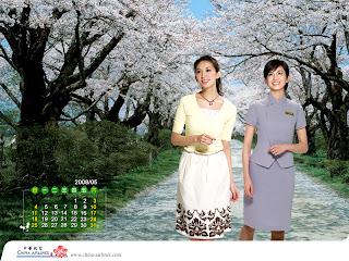 2008林志玲華航月曆五月