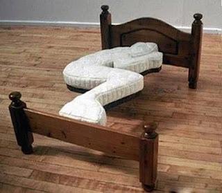 真正的單人床