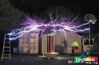 50萬伏高壓電下的美麗