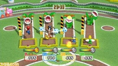 Wii 超級瑪莉歐棒球場 家庭棒球