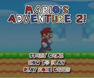 線上免費小遊戲-超級瑪莉兄弟 (Game Mario's Adventure 2)