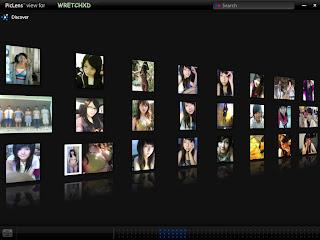 PicLens觀看無名相簿表特牆