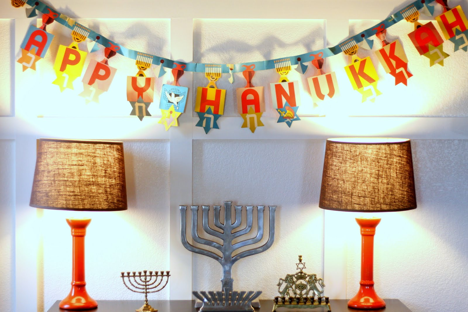 Hanukkah Lights Decorations