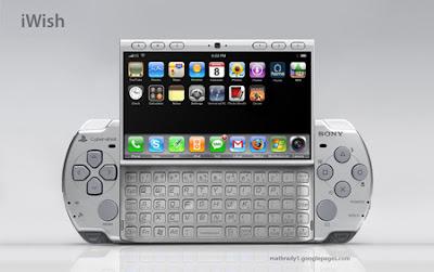 iwish_1 E lá vamos nós! Novo rumor sobre o PSP phone