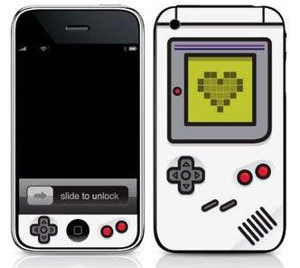 mono Deixe seu iPhone com cara de Game Boy