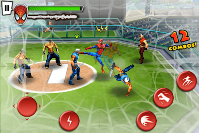 SPIDERMAN_02 Gameloft revela 'Ultimate Spider-Man Total Mayhem' Trailer e imagens