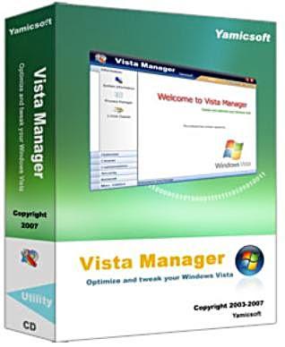 Vista Manager 3.0.0 + Portable, tinh chỉnh, quản lý toàn diện Windows Vista
