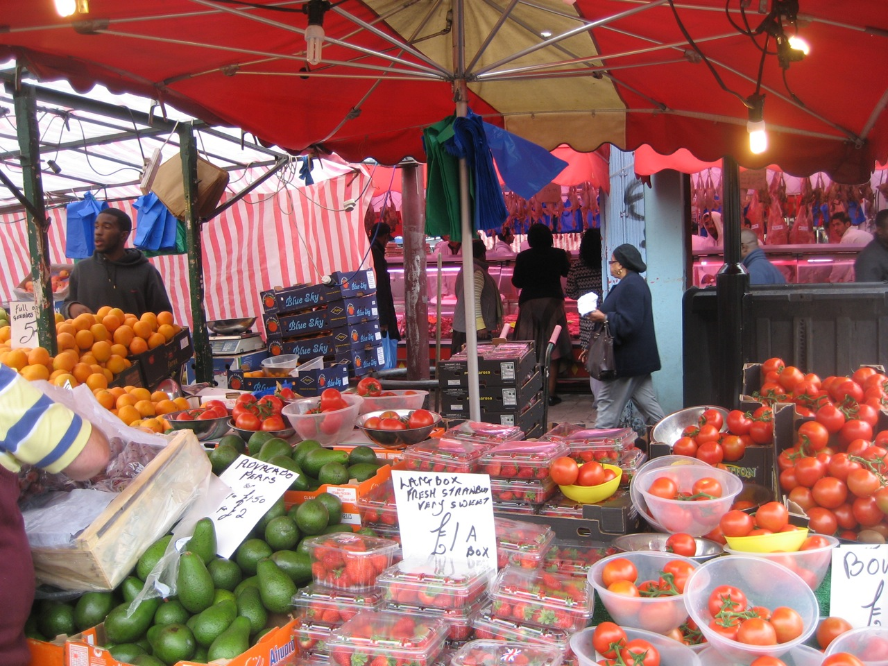 Food Market In Dalston