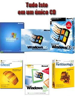 Download Windows Xp Win ME Win 98 Win 95 Norton Ghost baixar