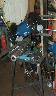 Home Made Surface Grinder: In the