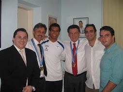 Visita a sede PTB São Paulo