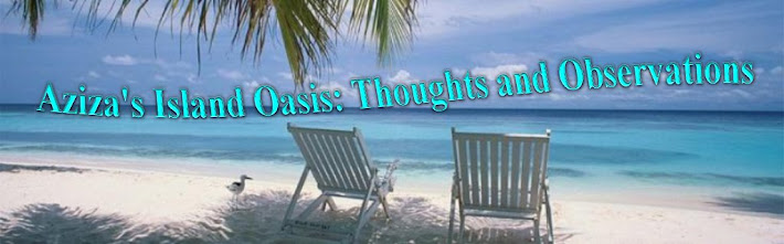 Aziza's Island Oasis:  Thoughts And Observations