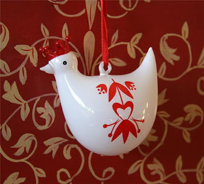 Nessy Designs: Ikea Bird Ornament