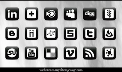 166  608x608 01 matte black social media icons webtreats preview 75 Beautiful Free Social Bookmarking Icon Sets