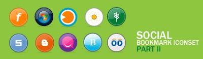 social bookmarking icons part2 75 Beautiful Free Social Bookmarking Icon Sets