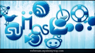 122  608x608 01 blue jelly social media icons webtreats preview 75 Beautiful Free Social Bookmarking Icon Sets