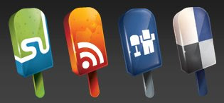 dellicream social media icons 75 Beautiful Free Social Bookmarking Icon Sets