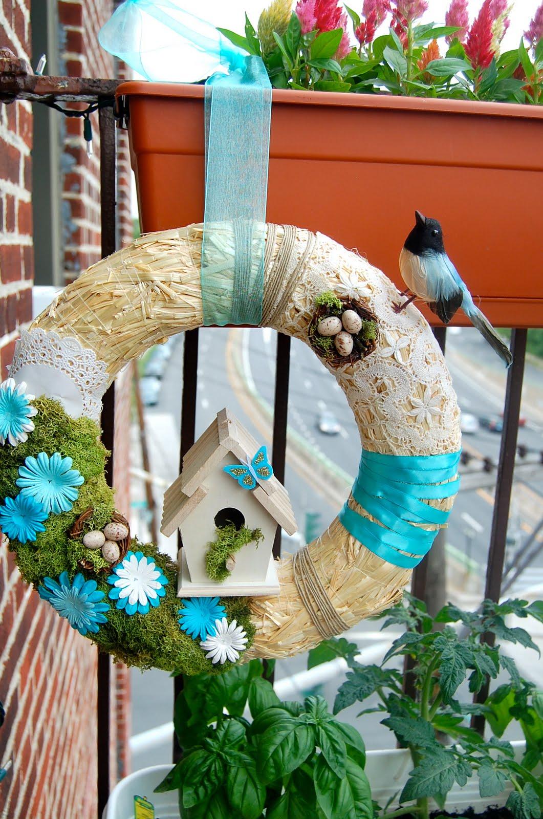 Ohh My Gracious Spring Wreath Diy