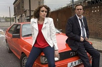 Ashes to Ashes actors plus Audi Quattro