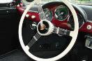 An old steering wheel