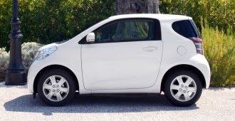 Toyota iQ parked