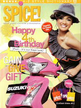nirina zubir for  spice magazine