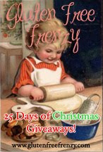 25 Days of Christmas Giveaways, Gluten Free of Course! Event