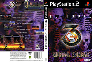 baixar capa Ultimate Mortal Combat 3   PS2 | NTSC