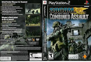JOGO SOC OM U.S. Navy Seals: Combined Assault | PS2
