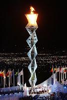 la llama Olimpica